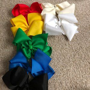 Assorted Jojo-Style Hair Bows